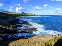 Clean beaches clear water and an even clearer sky Halona Lookout Oahu