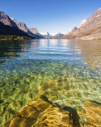 Clear mountain lakes are refreshing to the mind too Glacier National Park MT  ignatureprofessor