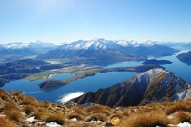 Clear Skies in New Zealands Southern Alps