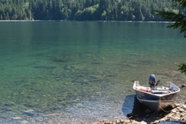 Clear water at Ross Lake  OC