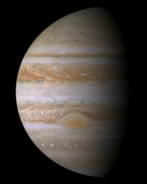 Clearest composite of the largest planet in the Solar System Jupiter