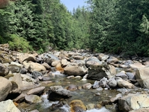Clearwater Creek in Whatcom County WA