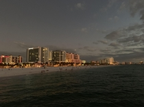 Clearwater Florida at dusk