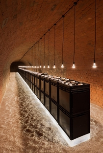 Clemens Strobl Winery in Austria designed by architecture firm Wolfgang Wimmer full set of photos inside