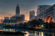 Cleveland at dawn