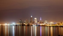 Cleveland OH at Night