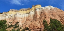 Cliffs at Echo Amphitheater NM near Ghost Ranch