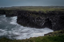 Cliffs at Hellnar Iceland By Daniel Kent