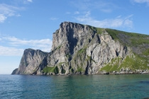Cliffs at Lofoten Norway