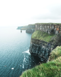 Cliffs of Moher were just breathtaking  IGlost_oxygen