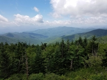 Clingmans Dome North Carolina