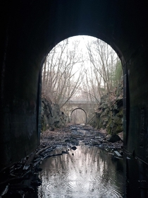 Clinton Tunnel saw its first train in  and its last