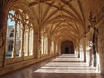 Cloister at Jeronimos Monastery Lisbon Portugal Beauty matters