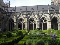 Cloister of the Dom in Utrecht The Netherlands