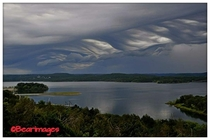 Cloud formation over Table Rock Lake Credit Bear Images
