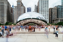 Cloud Gate in Motion