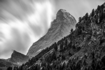 Clouds Breaking Upon the Matterhorn