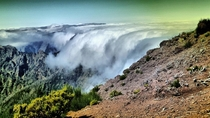 Clouds in Madeira