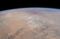 Clouds Over the Sahara Desert