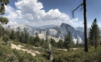 Clouds Rest and Half Dome Yosemite National Park California