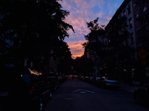Clouds tonight in east village NYC