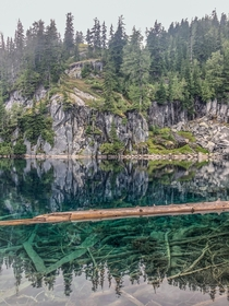 Cloudy day in Central Cascades WA but was not disappointed  hikedailyprn
