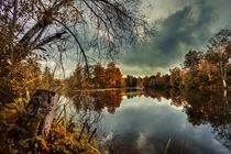 Cloudy days of september Muurame - Finland by Mehmet Eralp