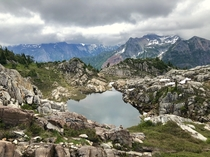 Cloudy first visit to North Cascades loved every second of it