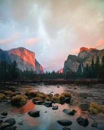 Cloudy Skies but was Surprised with this Beautiful Sunset Yosemite NP CA  relativebrand