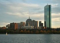 Cluster of buildings in Back Bay Boston