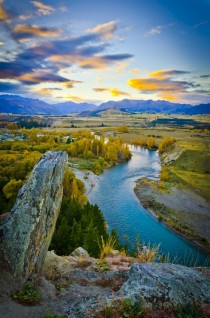 Clutha-River Otago New Zealand