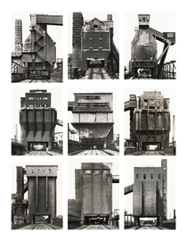 Coal bunkers frontal views Bernd amp Hilla Becher -