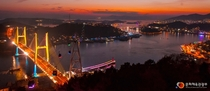 Coastal city of Yeosu South Korea x-post rSouthKoreaPics