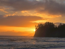 Coastal Sunset Oregon USA