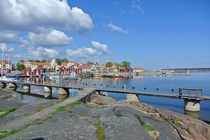 Coastal village of regrund Sweden