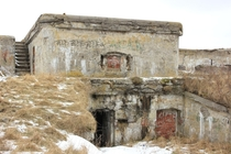 Coastal WW forts at Liepaja Latvia on the Baltic coast