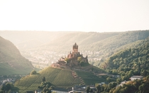 Cochem Castle Reichsburg Germany   nicoshoot
