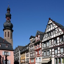 Cochem town in Germany