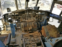 Cockpit of a Scrapped C- Cargomaster
