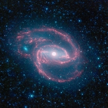 Coiled Galaxy taken by NASAs Spitzer Space Telescope