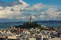 Coit Tower San Francisco by Adam Derewecki