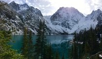 Colchuck Lake and Dragontail Peak Leavenworth WA