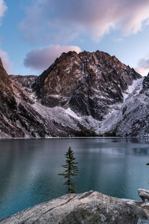 Colchuck Lake in the Evening Washington