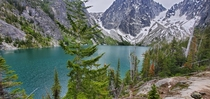 Colchuck Lake Washington  mile hike to reach it elevation gain ft final elevation ft