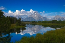 Cold Mountain Mirror Grand Tetons National Park by dreyco