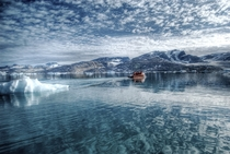 Cold Reflections near Tasiilaq Greenland