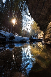 Coldwater Canyon Sunset Wisconsin Dells WI