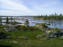Cole Harbour Nova Scotia on a warm summer day At low tide its an excellent place to go digging for clams