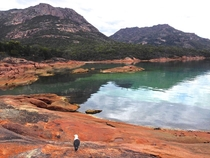 Coles Bay near the Freycinet National Park - Tasmania Australia