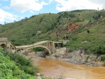 Collapsed Bridge in Madagascar